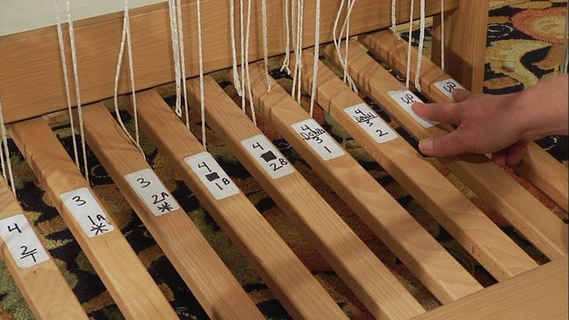 3.8.2 - Weaving Your Supplementary Warp Sample