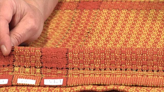5.4.4 - Huck Colour & Weave Show & Tell
