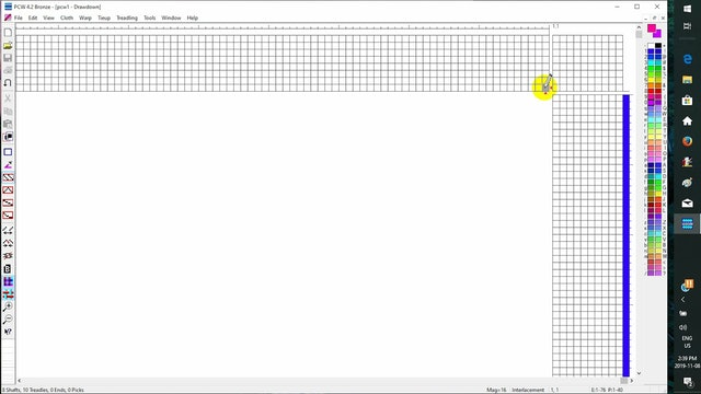 4.2.3 - Page 1 - Fiberworks screen (Windows)