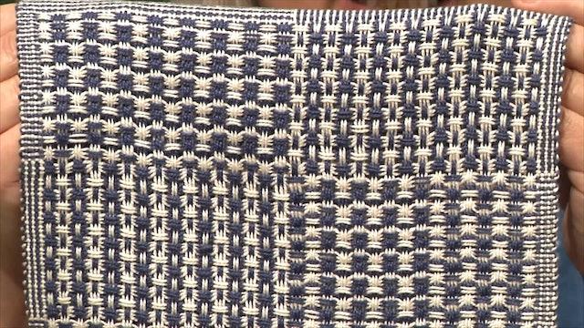 5.4.1 - Intro to Huck Colour & Weave