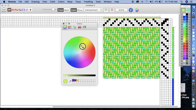 4.2.1.4 - Page 5 - Creating your own new colors (Mac)