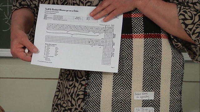 4.7.1 - Introduction to Twill & Basket Weave