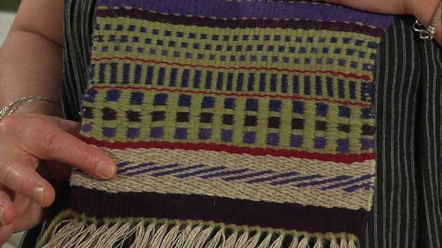 3.4.3 - Weft Faced, Twill Colour Sequences at the Table