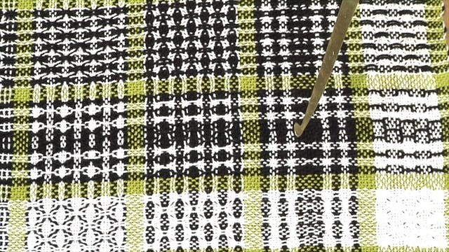 5.4.2 - Huck Colour & Weave the Sampler