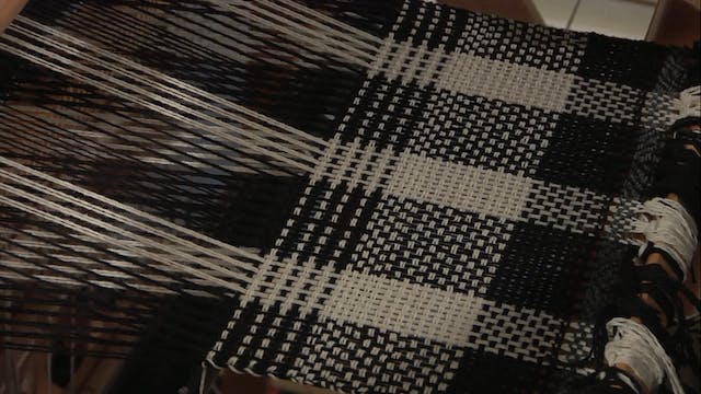 4.7.3 - Twill & Basket Weave at the Loom