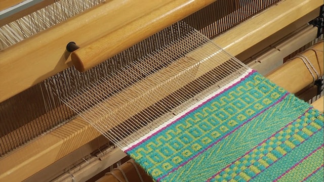 3.4.6 - Weft Faced, Boxes and Roman Keys at the Loom