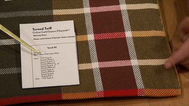 5.1.2 - Introduction to Turned Twill