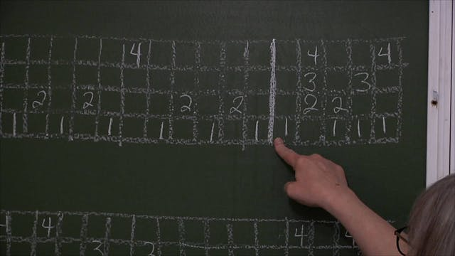 5.8.2 - Blended Lace at the Blackboard