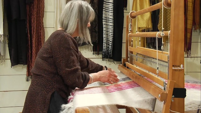 """1.9.2 - Take the Leap…..A 45"""" Wide Mohair Throw"""
