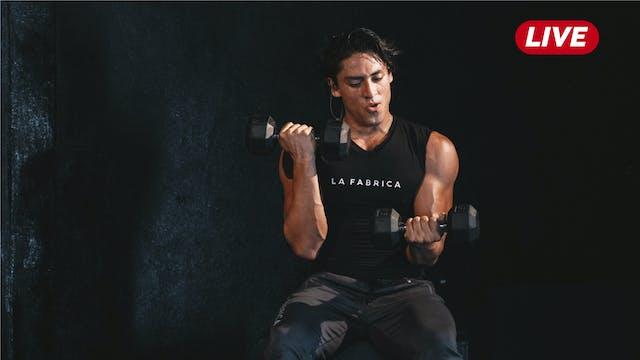 29Sep -Pecho, Biceps y Hombro con Héc...
