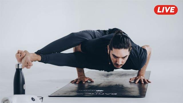 28Ene -Yoga Vinyasa con Alejandro Lozano
