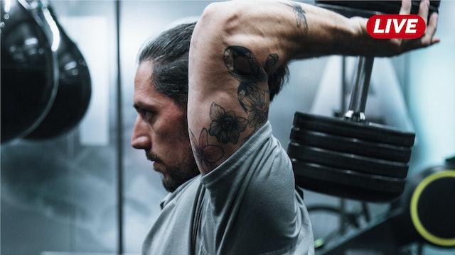 20Ago- Espalda,Tríceps y Hombro con Héctor & Sergio