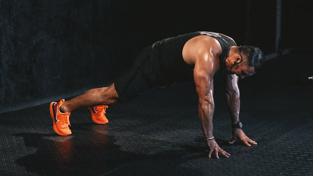 60-Min Full Body HIIT con Ulises