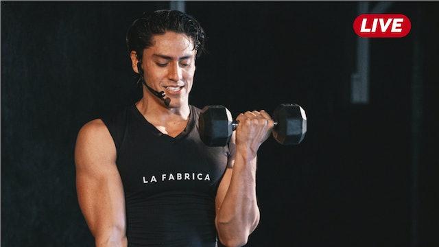 25Jun -Espalda / Triceps y Hombro con Héctor & Sergio