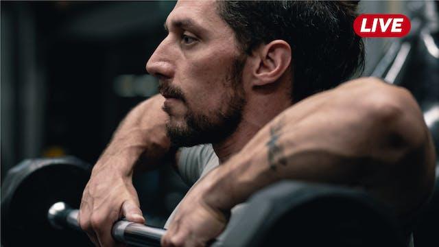 25Ago- Pecho, Bíceps y Hombro con Héc...