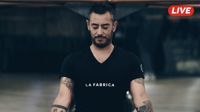 27May -Yoga Vinyasa con Ernesto