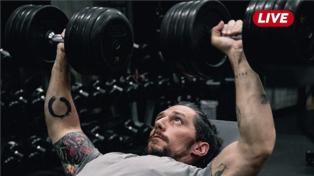 01Oct -Espalda, Triceps y Hombro con Héctor & Sergio