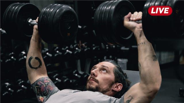 01Oct -Espalda, Triceps y Hombro con ...
