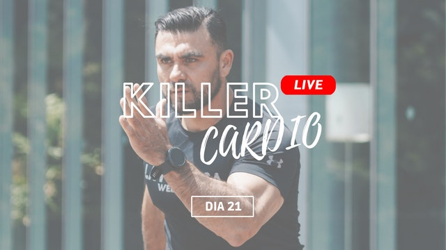 10Abr -Festival Killer Cardio con Sandy, Ulises & Raúl