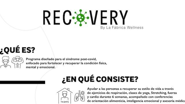 Que es RECOVERY?