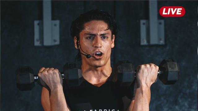 16Jul Espalda / Triceps y Hombro con ...