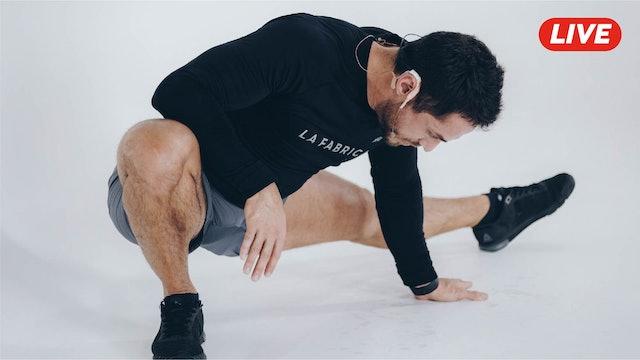 18Feb -Espalda, Tríceps y Hombro con Sandy & Pablo