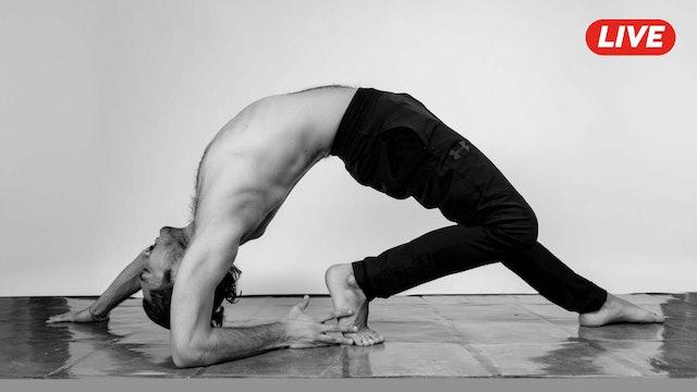 11Feb -Yoga Vinyasa con Alejandro Lozano