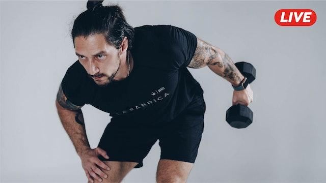 10Dic -Espalda, Triceps y Hombro con Pablo & Héctor