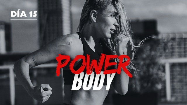 06Ago -Power Full Body con Pablo & Paty