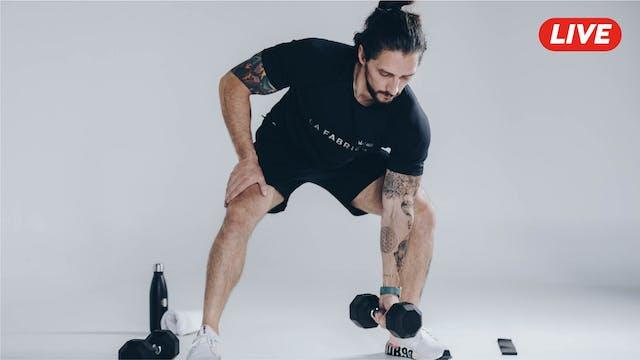 12Nov -Espalda, Triceps y Hombro con ...