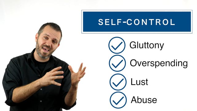 obedience - lesson 18 - self-control HD