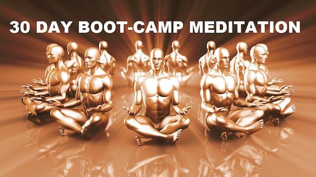 30 Day Meditation Boot-Camp: A Mindfulness Meditation Course By Jason Stephenson