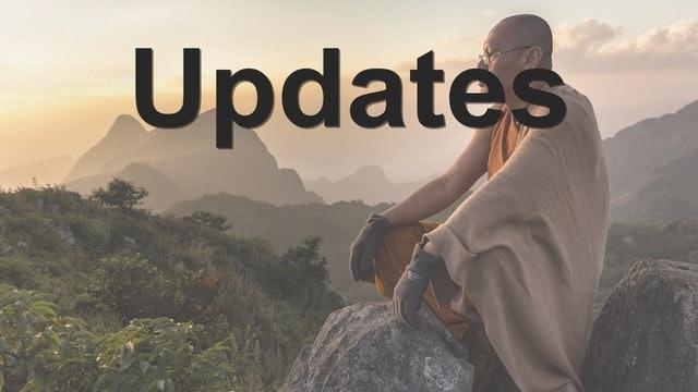 Meditation Masters Updates