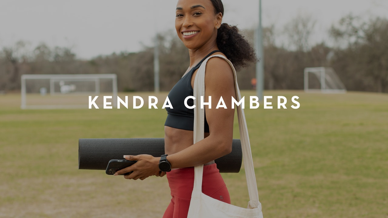 Use Yoga Like Kendra Chambers