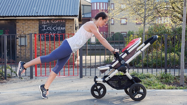 Yoga for Stroller Running