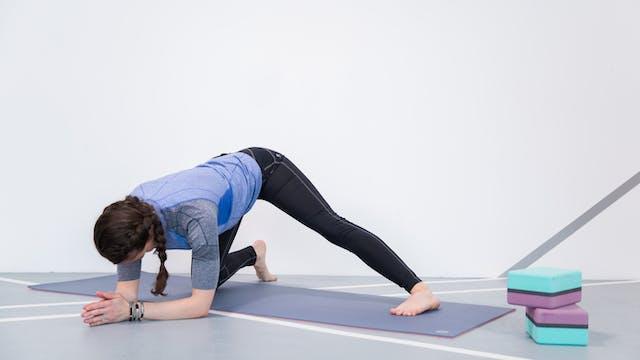 Flexible Running Hamstrings