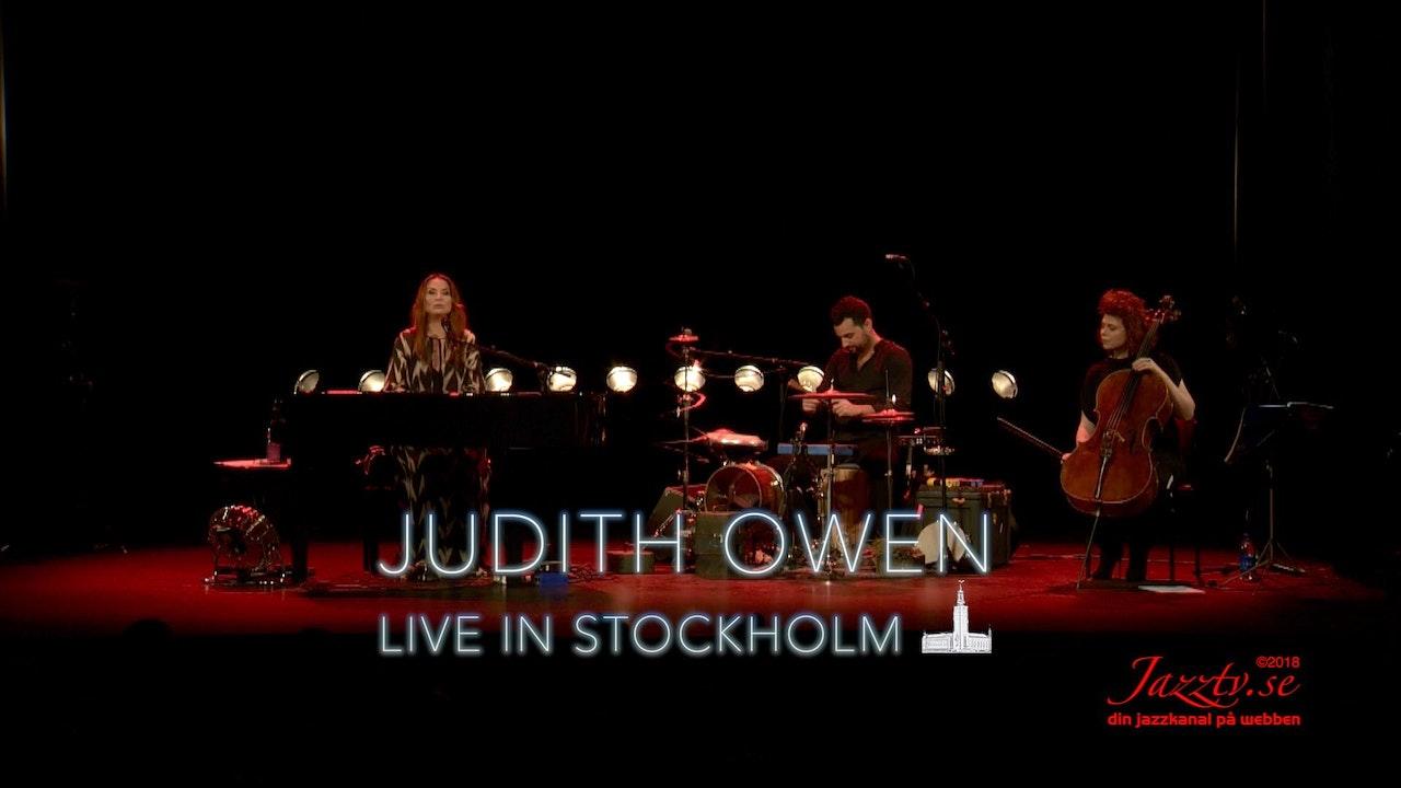 Judith Owen - Live in Stockholm - Part 2