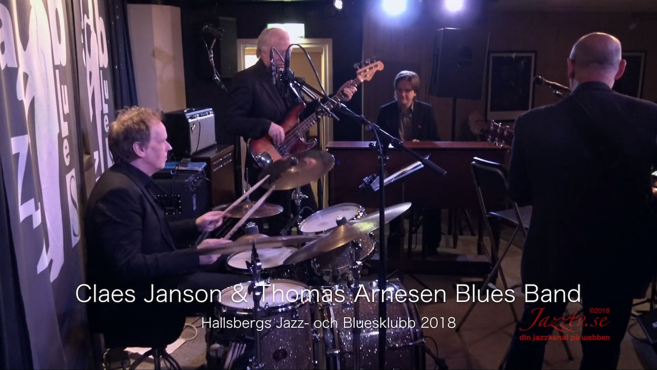 Claes Janson & Thomas Arnesen Blues Band