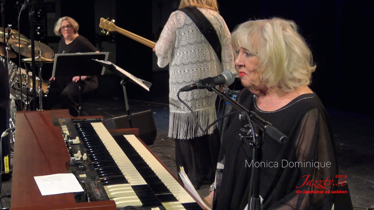 Organ jazz with Monica Dominique - Part 2
