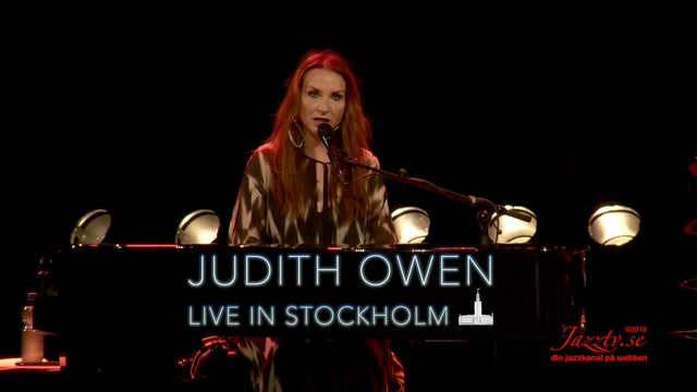 Judith Owen - Live in Stockholm - Part 1