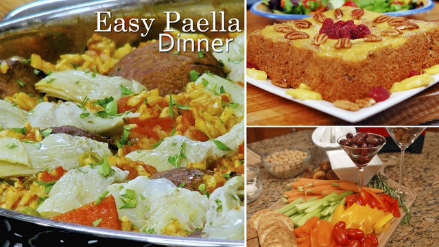"""Easy Paella Dinner"" - Episode 203 (24 min)"