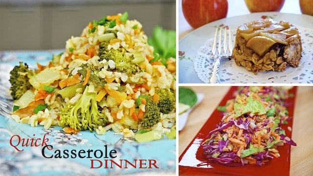 """""""Quick Casserole Dinner"""" -  Episode 508 (24 min)"""