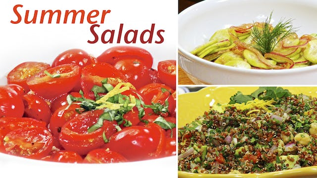 """Spectacular Summer Salads"" - Episode 310 (24 min)"