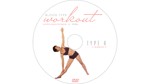 Blood Type Workout - A - Yoga