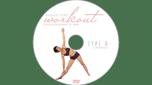 Blood Type Workout - A - Yoga