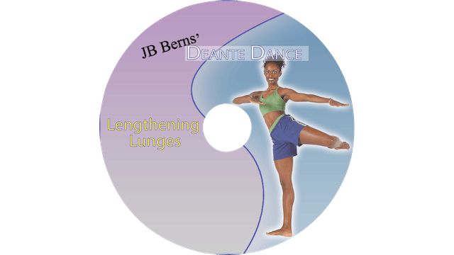 Deante Dance - Lengthening Lunges