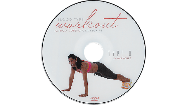 ​Blood Type Workout - O - Kickboxing ​