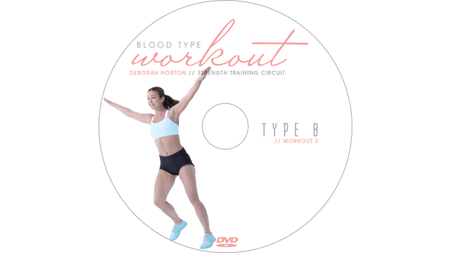 Blood Type Workout - B - Strength Training Circuit