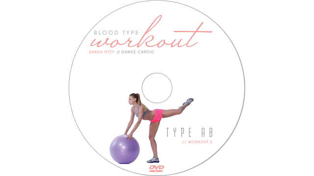 Blood Type Workout - AB - Dance Cardio