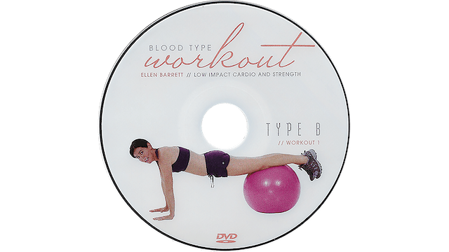 Blood Type Workout - B - Cardio and Strength